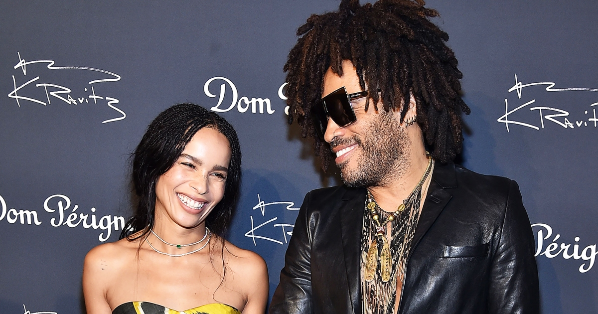 Image result for lenny kravitz and daughterer