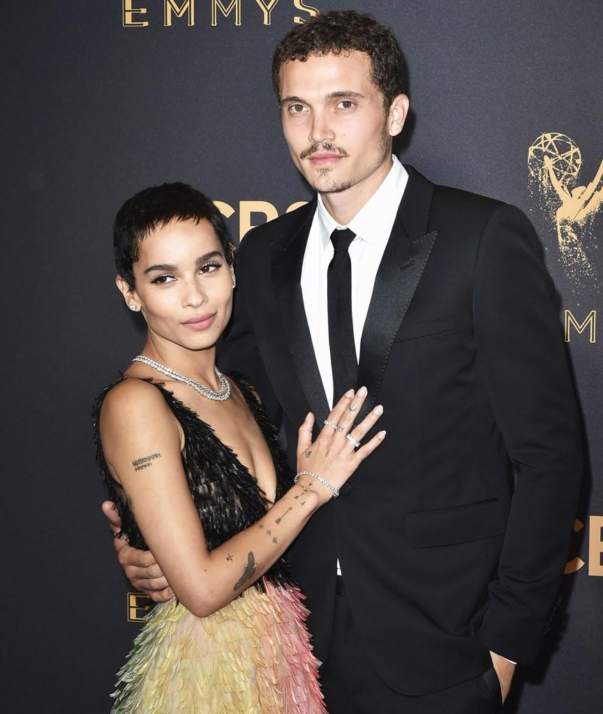 Zoe Kravitz Engaged Karl Glusman