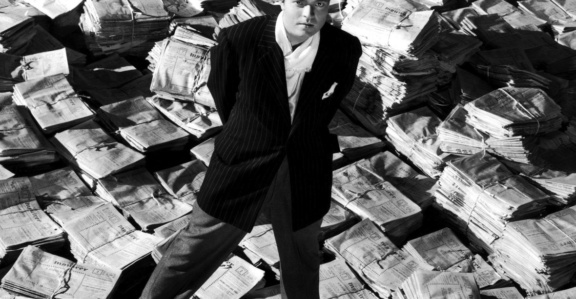 orson in 'citizen kane.' (photo credit: getty images)