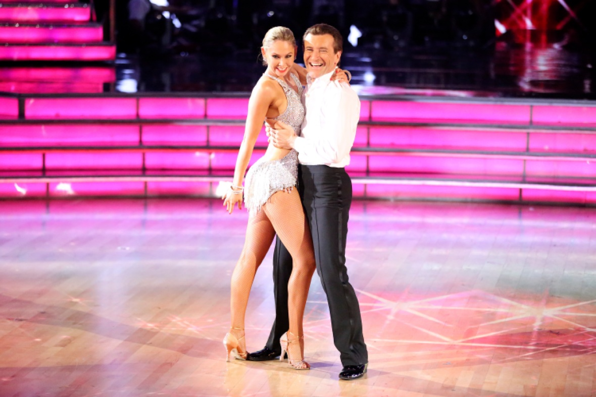 robert and kym on 'dwts.' (photo credit: getty images)