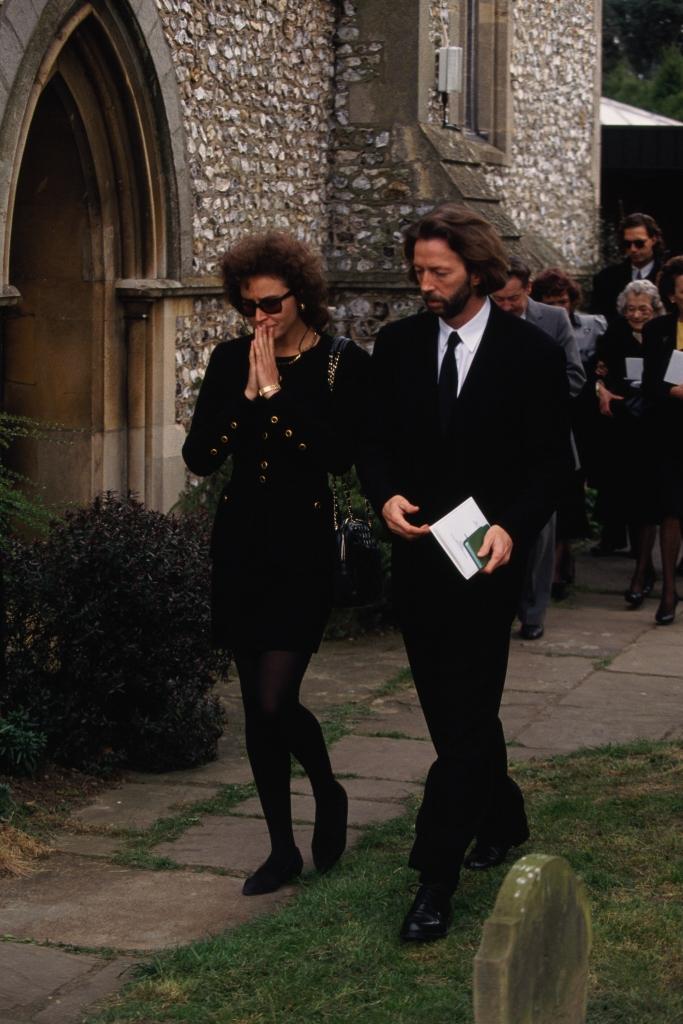 Eric Clapton Son Funeral