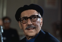 Portrait of Comedian Groucho Marx