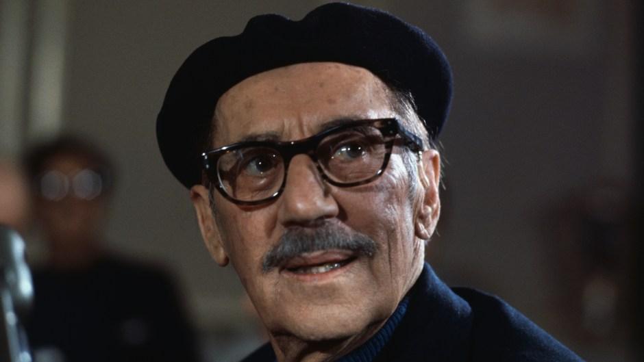 Portrait of Comedian Groucho Marx