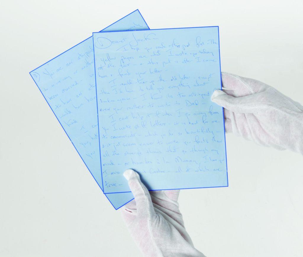 Jackie Kennedy Love Letter