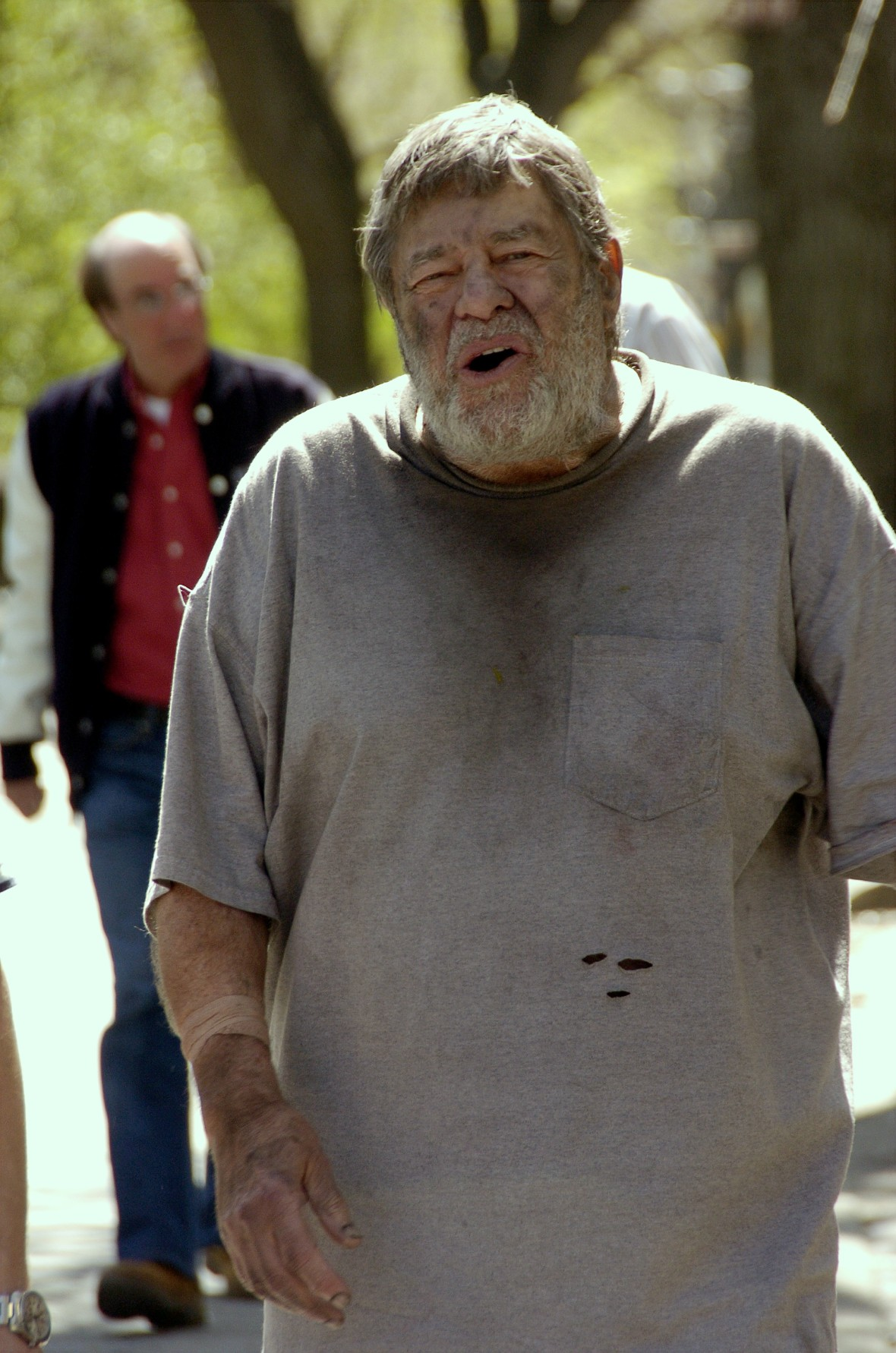 jerry on the set of 'law and order: special victims unit.' (photo credit: getty images)