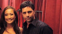 John Stamos and Carrie Ann Inaba
