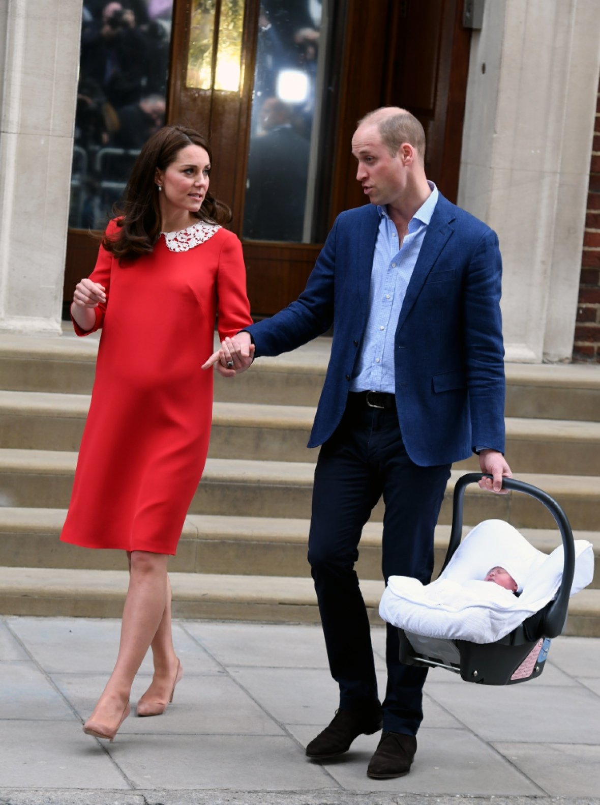 kate middleton prince louis getty images
