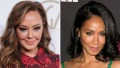 Leah Remini and Jada Pinkett Smith