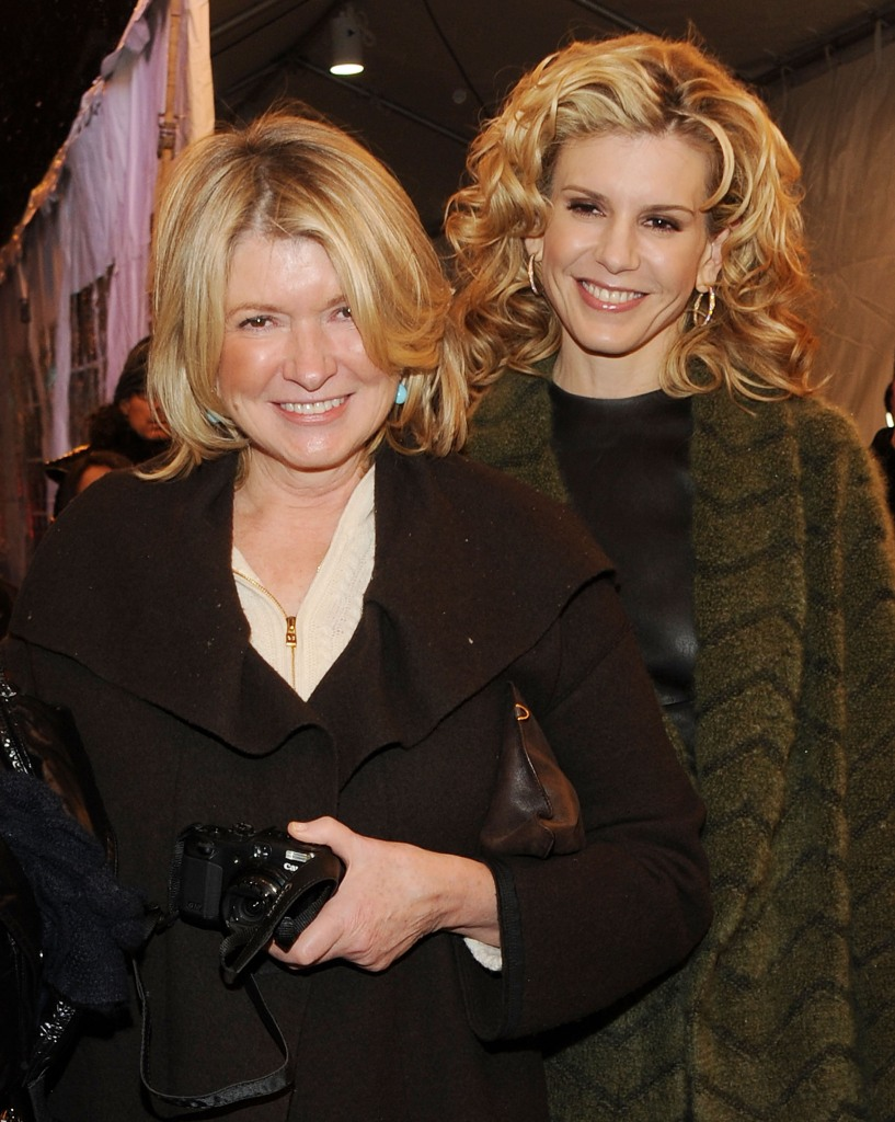 Martha Stewart and her daughter, Alexis