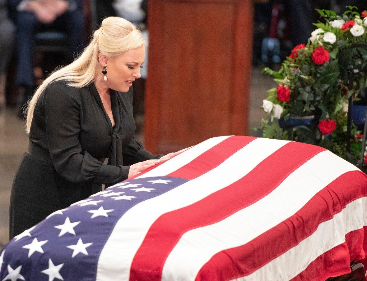meghan mccain john mccain funeral