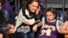 Natalie Portman's son, Aleph