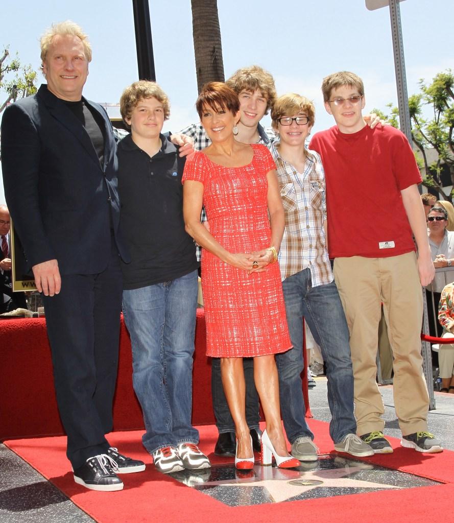 Patricia Heaton Family