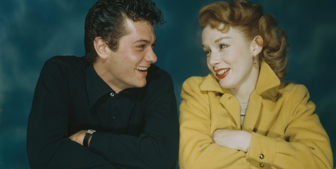 piper and tony in 1955. (photo credit: getty images)