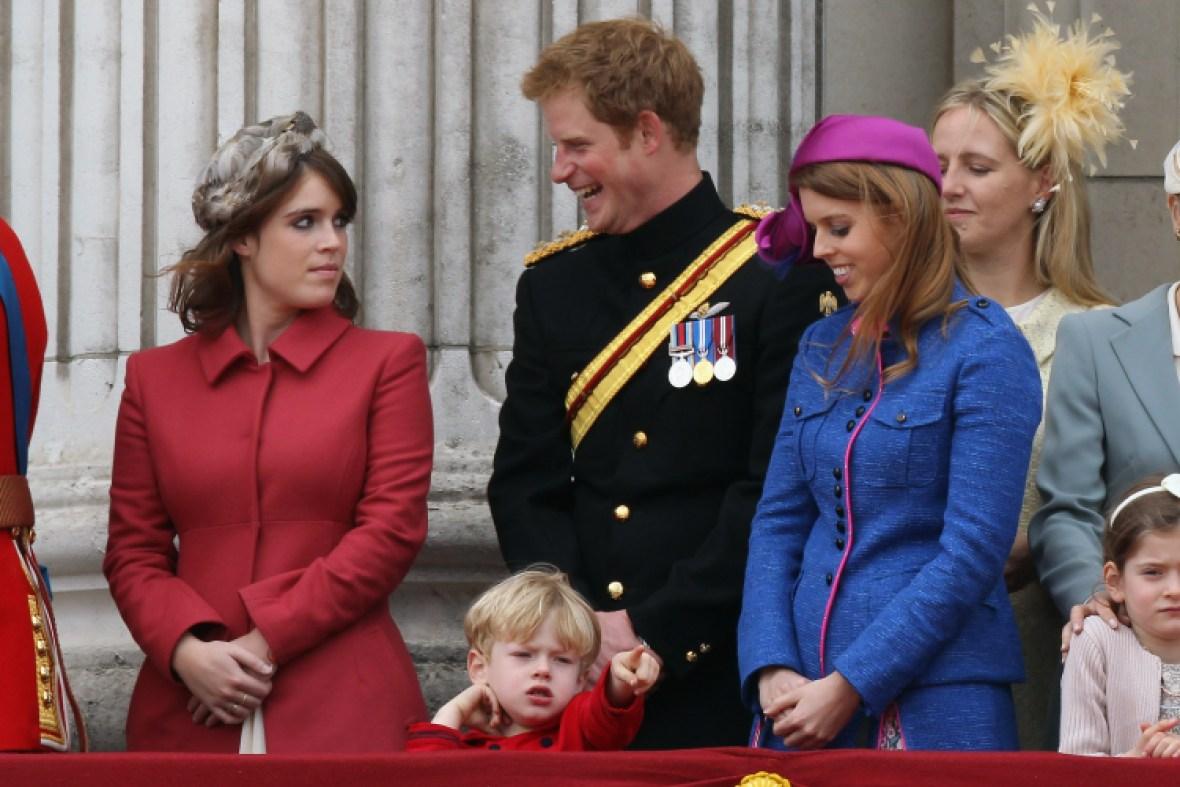 princess eugenie and prince harry