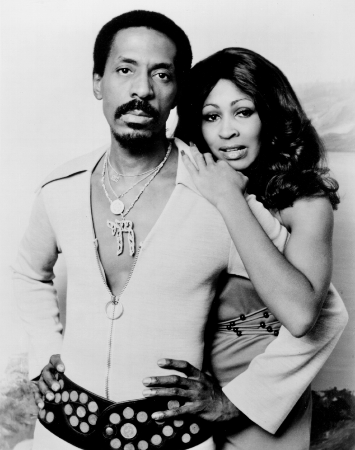 tina and her first husband, ike. (photo credit: getty images)