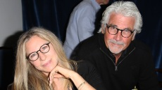 Barbra Streisand and James Brolin