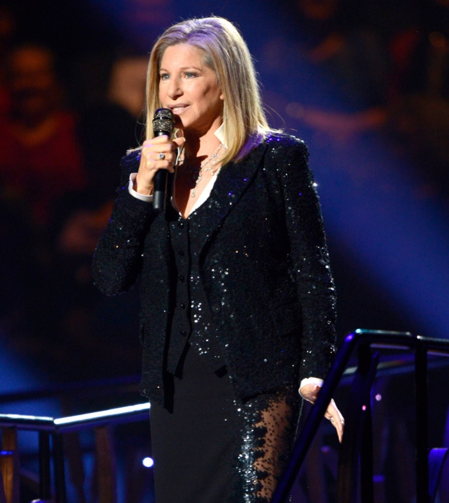 Barbra Streisand Singing