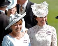 Carole and Kate Middleton