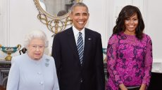 The Obamas and Queen Elizabeth