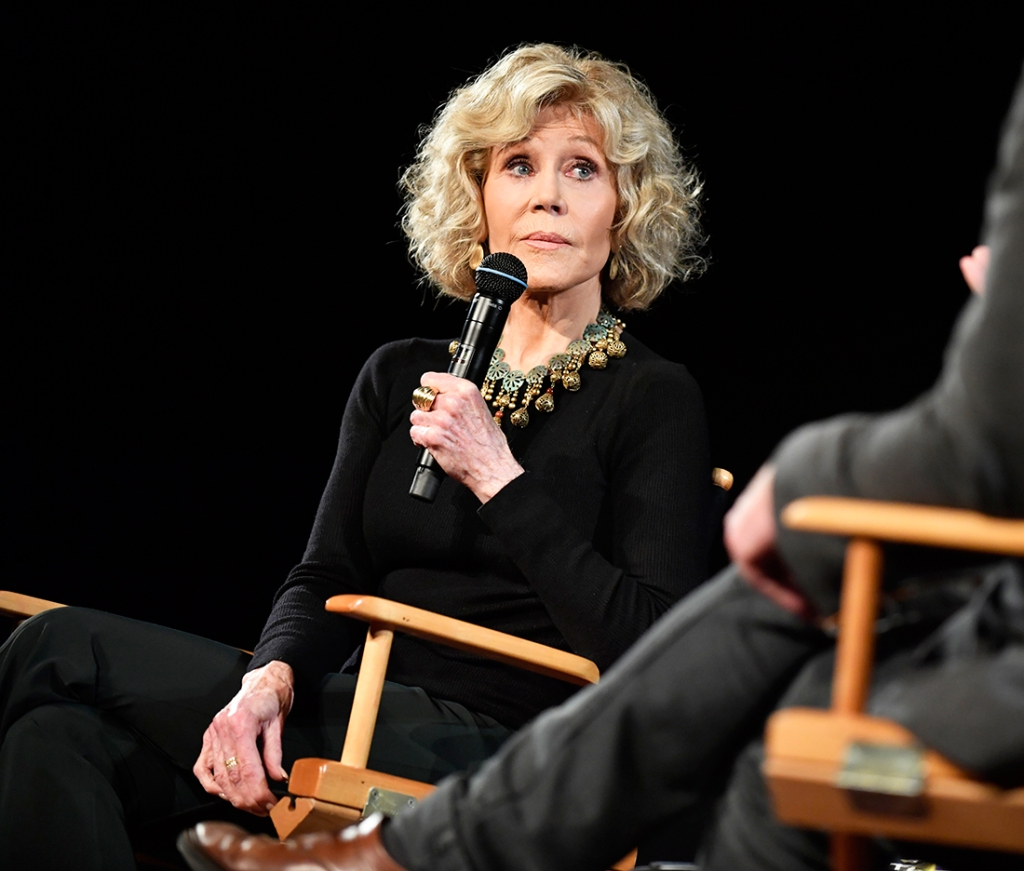 Jane Fonda Megyn Kelly