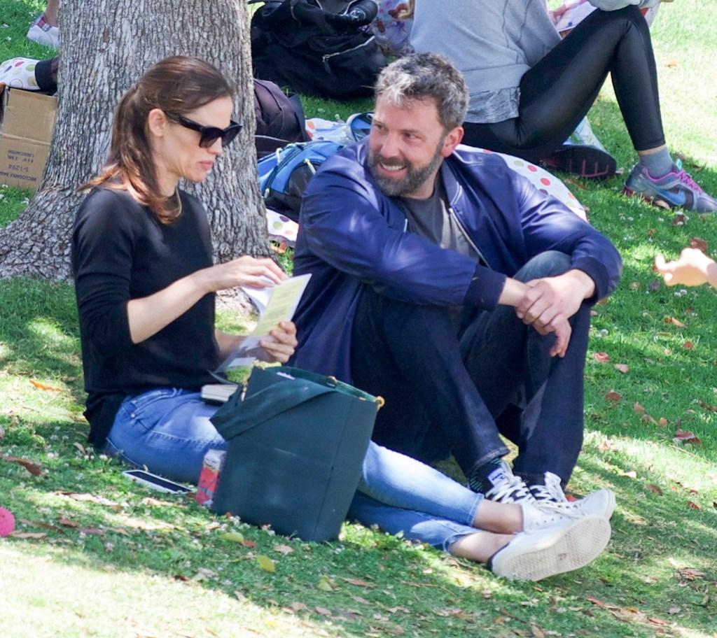 Jennifer Gardner and Ben Affleck