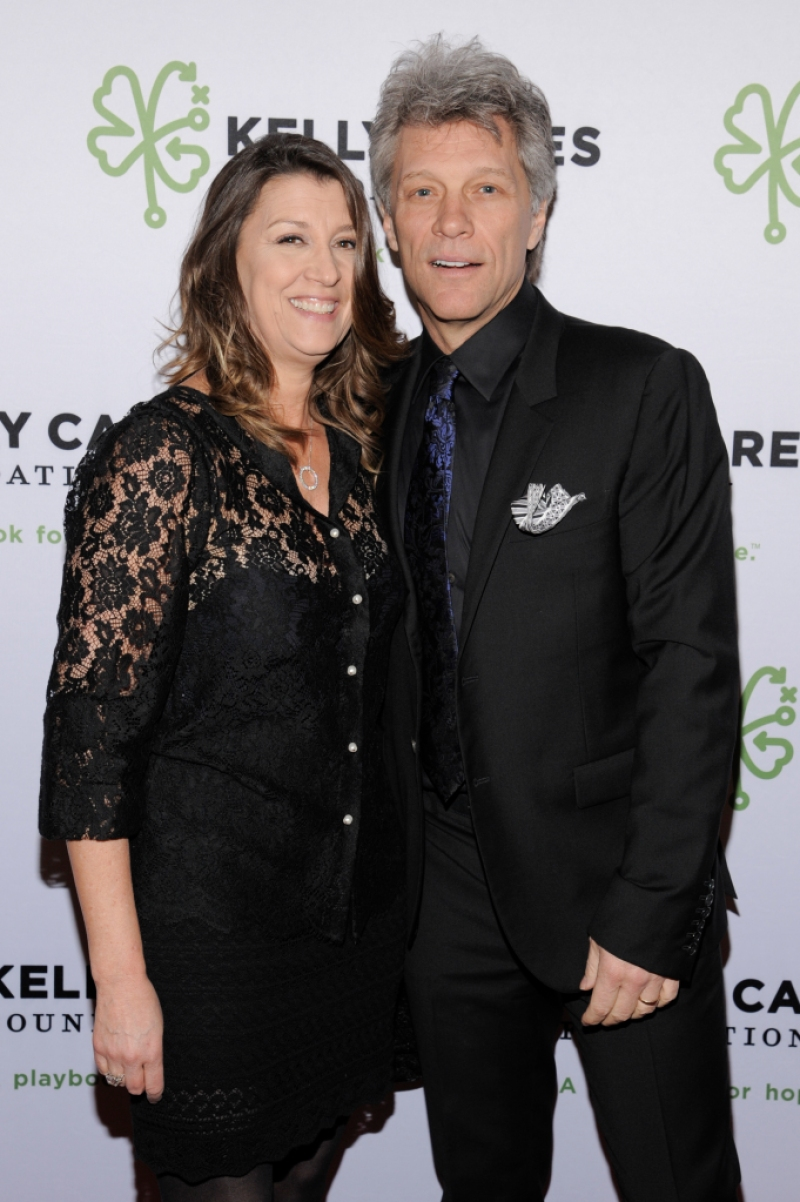 Jon Bon Jovi with Wife