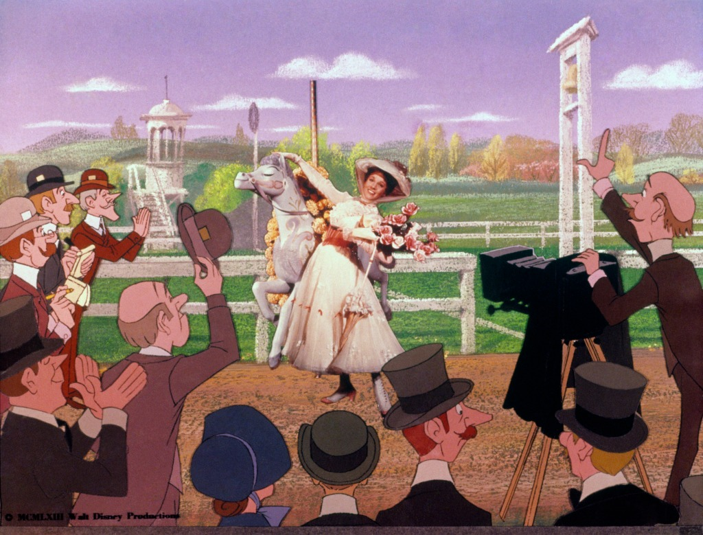 Julie Andrews as Mary Poppins
