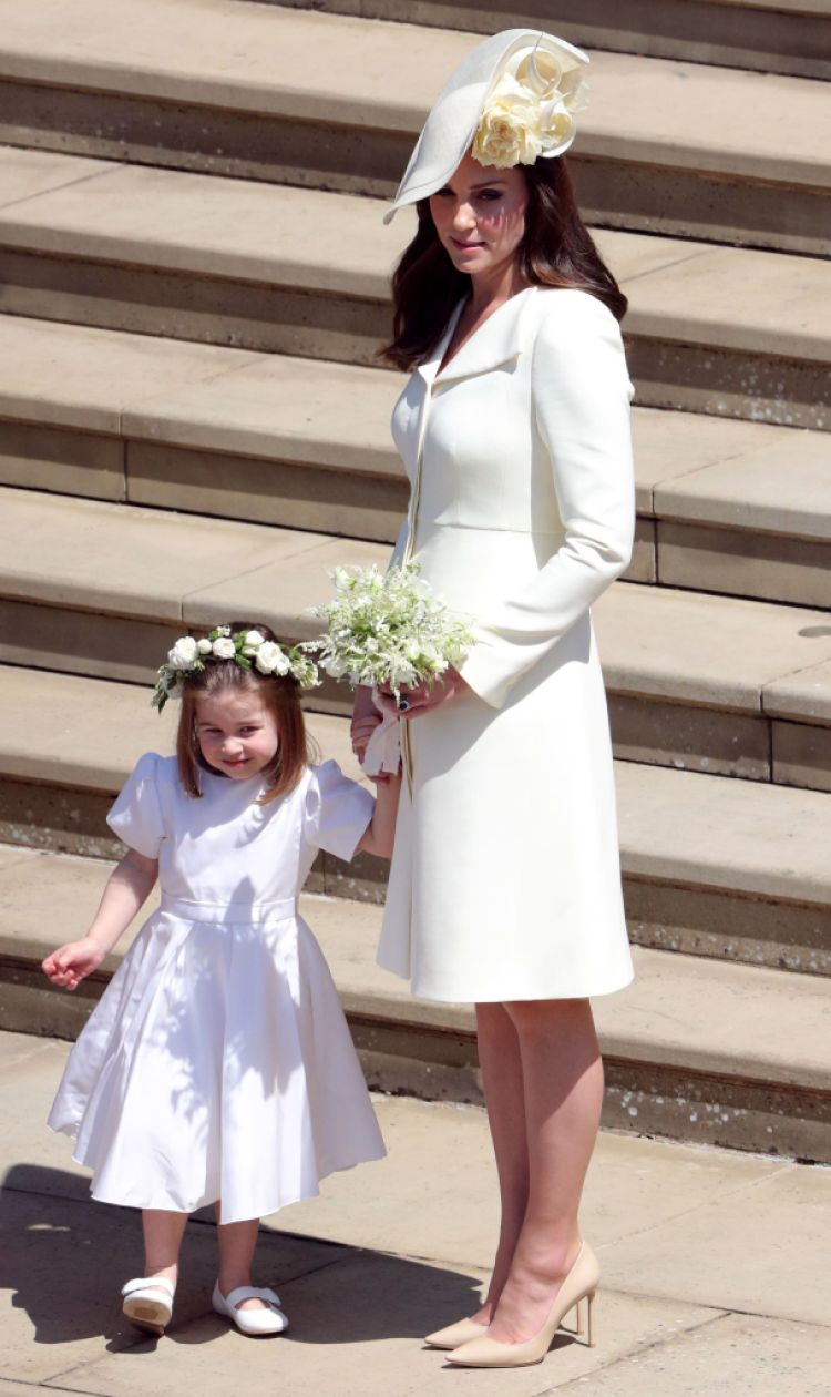 Kate Middleton and Princess Charlotte