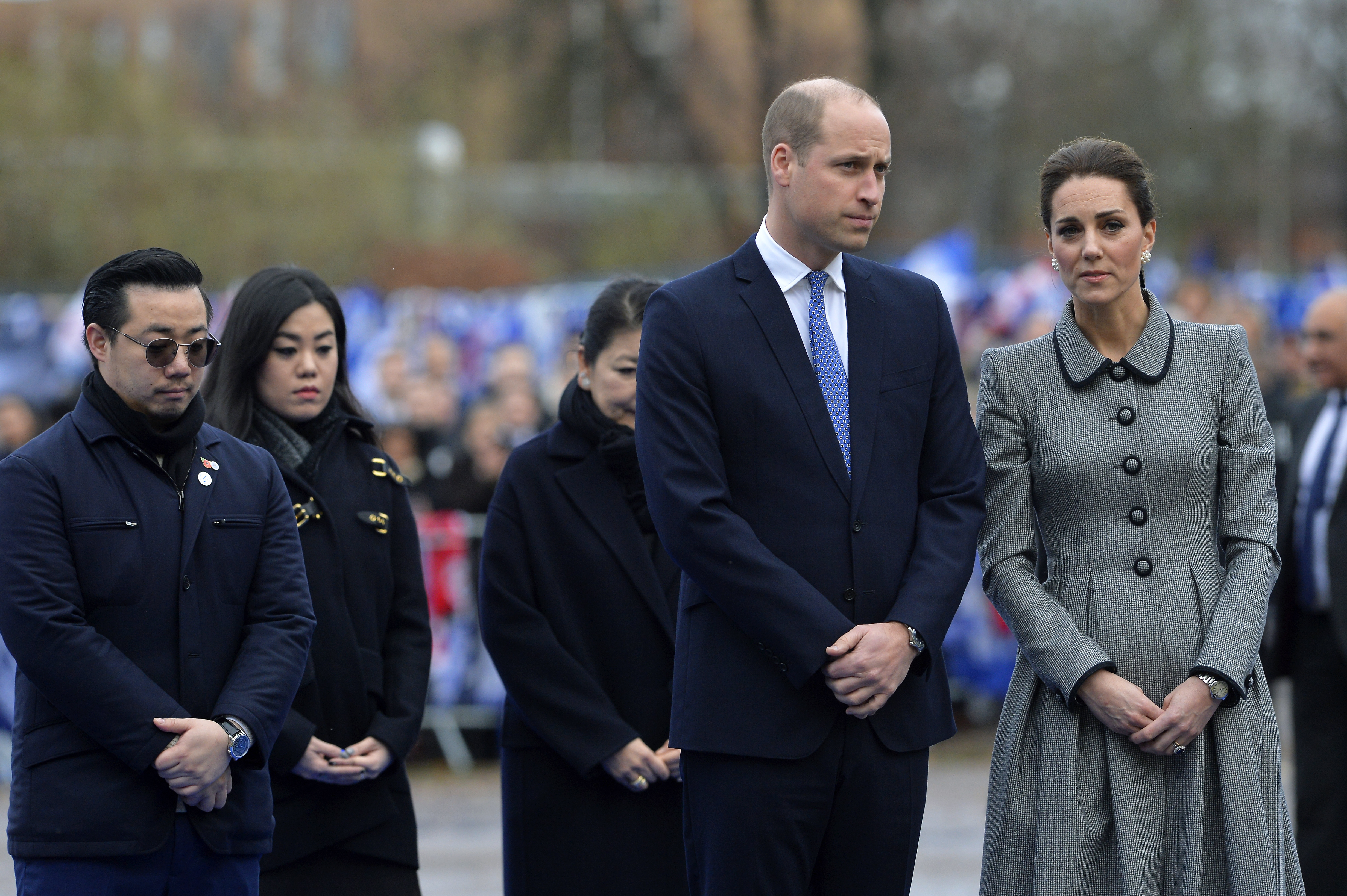 Prince William And Kate Middleton Honor Soccer Club Chairman Who