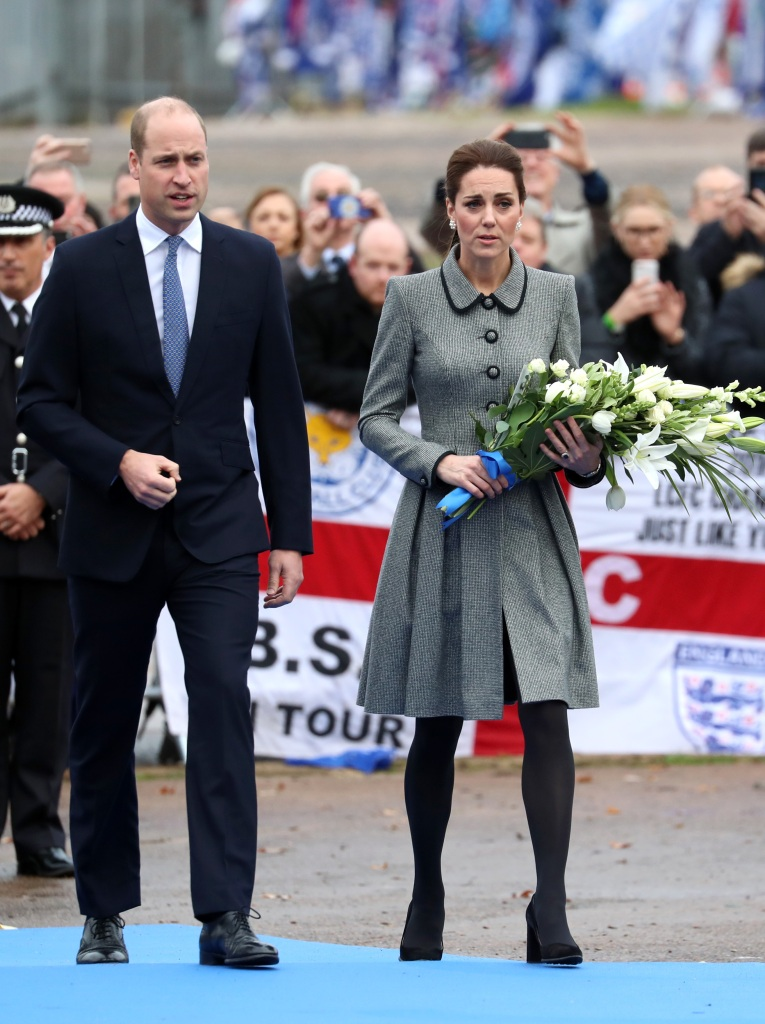 William and Kate at Tribute