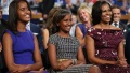Michelle Sasha Malia Obama