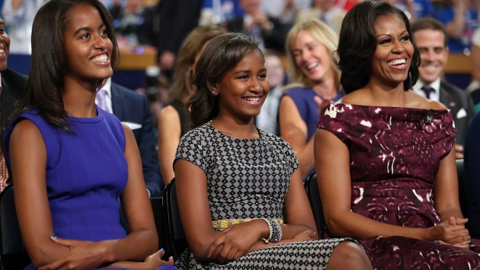 Michelle Sasha Malia Obama