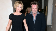 Meg Ryan and John Mellencamp Hit the Streets of NYC to Run Errands — See the Pics!