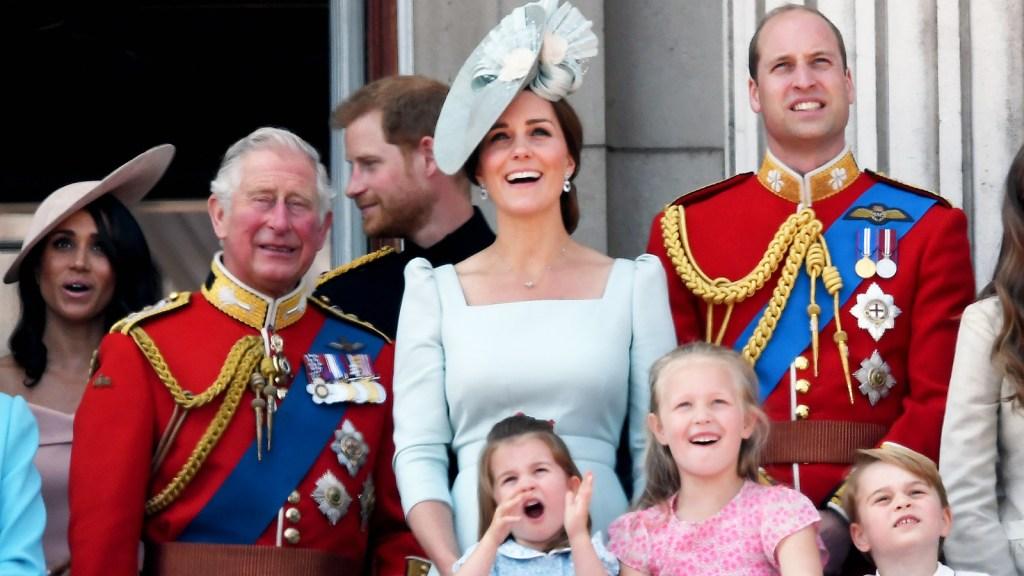 Prince Charles Bond Princess Charlotte