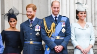 Prince Harry Prince William Meghan Markle Kate Middleton Royals