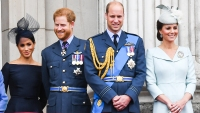 Prince Harry Prince William Meghan Markle Kate Middleton Royals