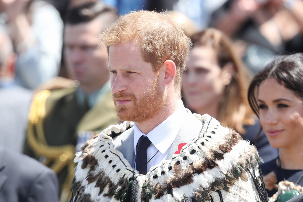 Prince Harry with Meghan