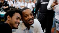 Will Smith and Son Trey