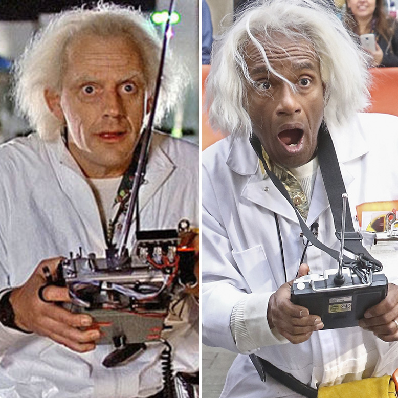 Al Roker Doc Brown