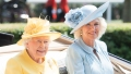 Queen Elizabeth and Camilla Parker Bowles