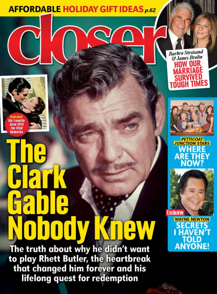 Clark Gable Cover