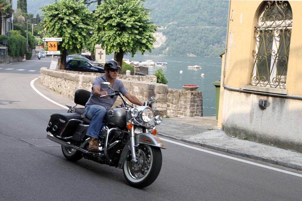 George Clooney Motorcycle