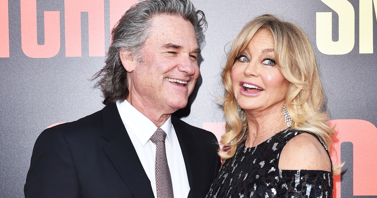 Goldie Hawn, 73, and K...