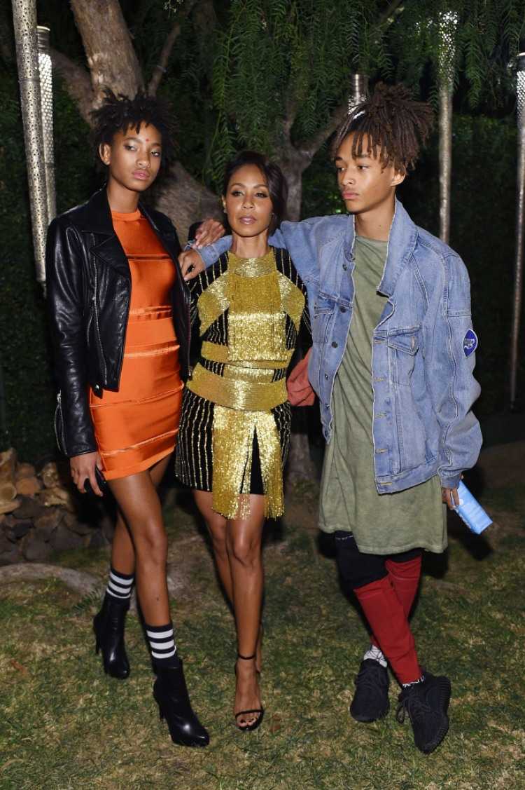 Jada Pinkett Smith Family