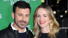 Jimmy Kimmel and his wife Molly