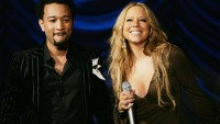 John Legend and Mariah Carey