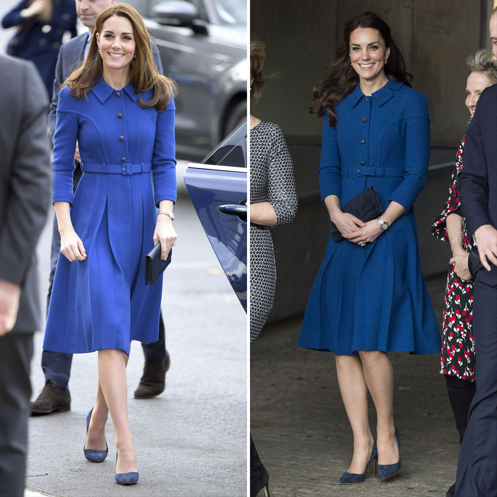 Kate Middleton Recycled Blue Dress
