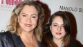Kathleen Turner and her daughter
