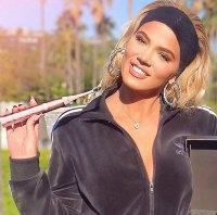 Khloe Kardashian Is BURSTing About This Rose Gold Toothbrush