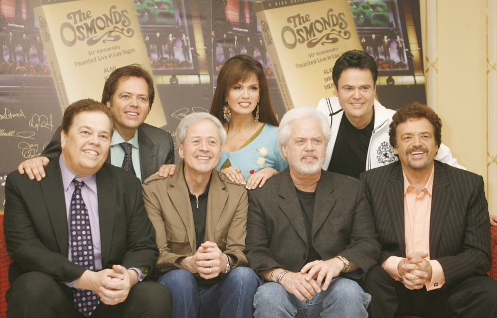 Marie Osmond Family